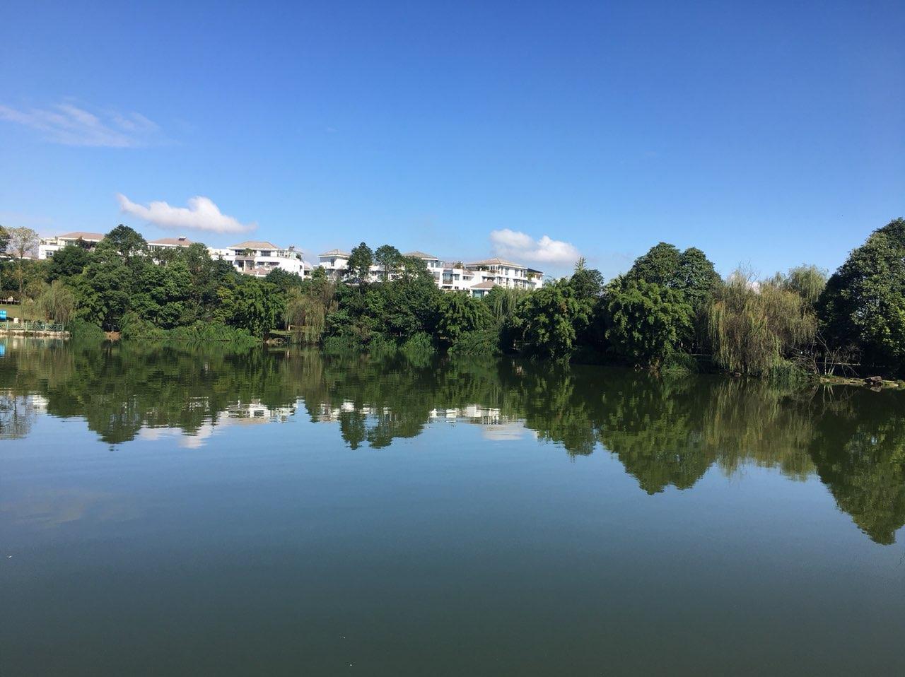 绵阳人工湖,邂逅最美的风景